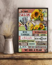 We Are A Team Hairdresser 11x17 Poster lifestyle-poster-3