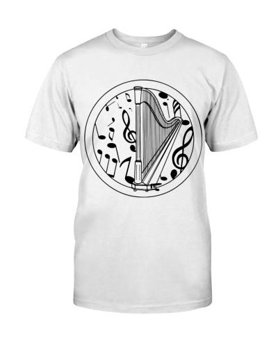 Art Circle Of Harp