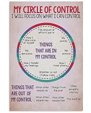 Circle Of Control Teacher 11x17 Poster front
