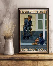 Find Your Soul Harmonica 11x17 Poster lifestyle-poster-3