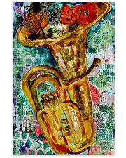 Tubist Tuba Water Colors  11x17 Poster front