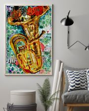 Tubist Tuba Water Colors  11x17 Poster lifestyle-poster-1