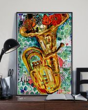 Tubist Tuba Water Colors  11x17 Poster lifestyle-poster-2