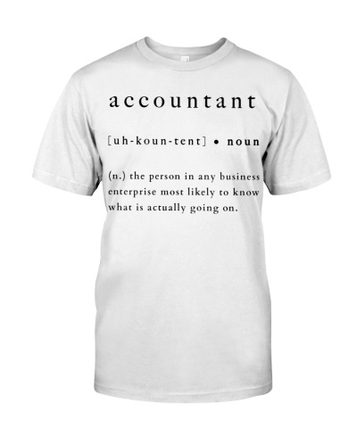 Accountant's Definition
