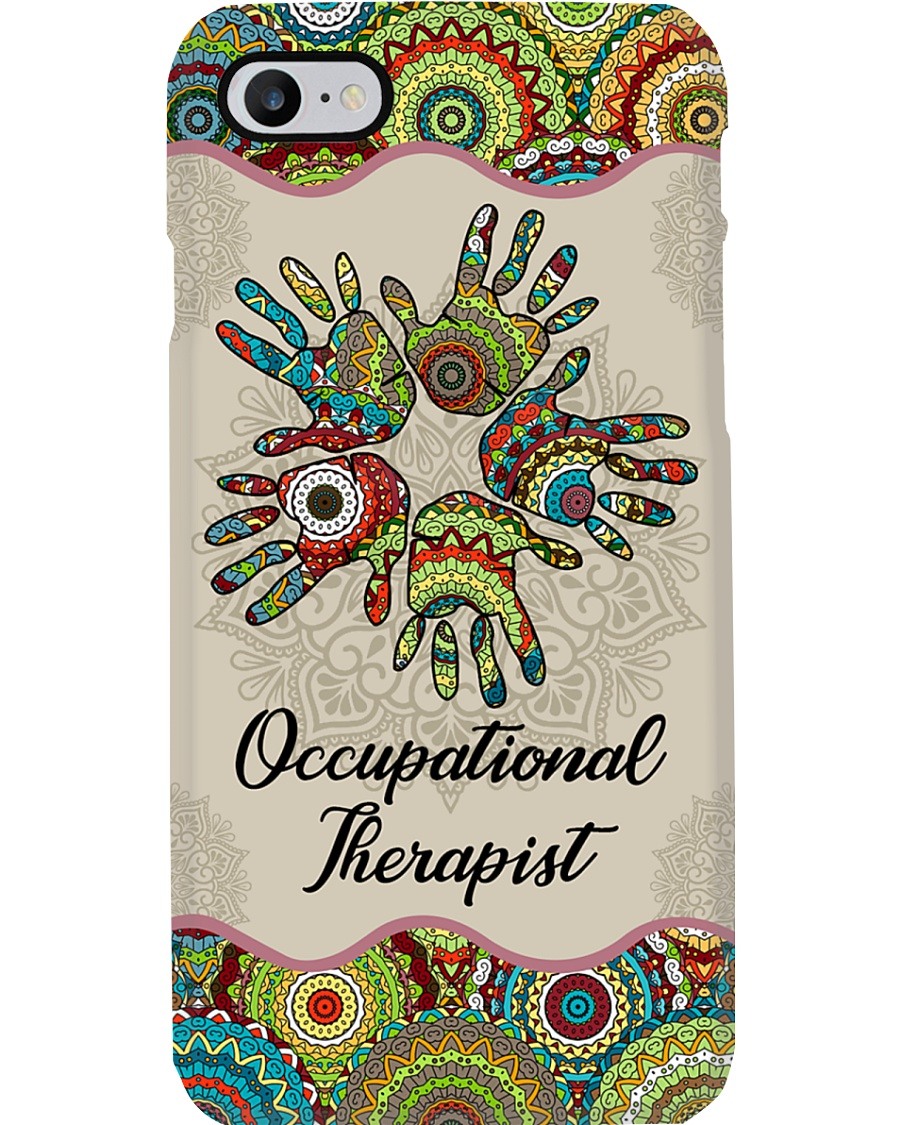 Occupational Therapy Together Hands Unique Pattern Phone Case