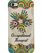 Occupational Therapy Together Hands Unique Pattern Phone Case i-phone-8-case