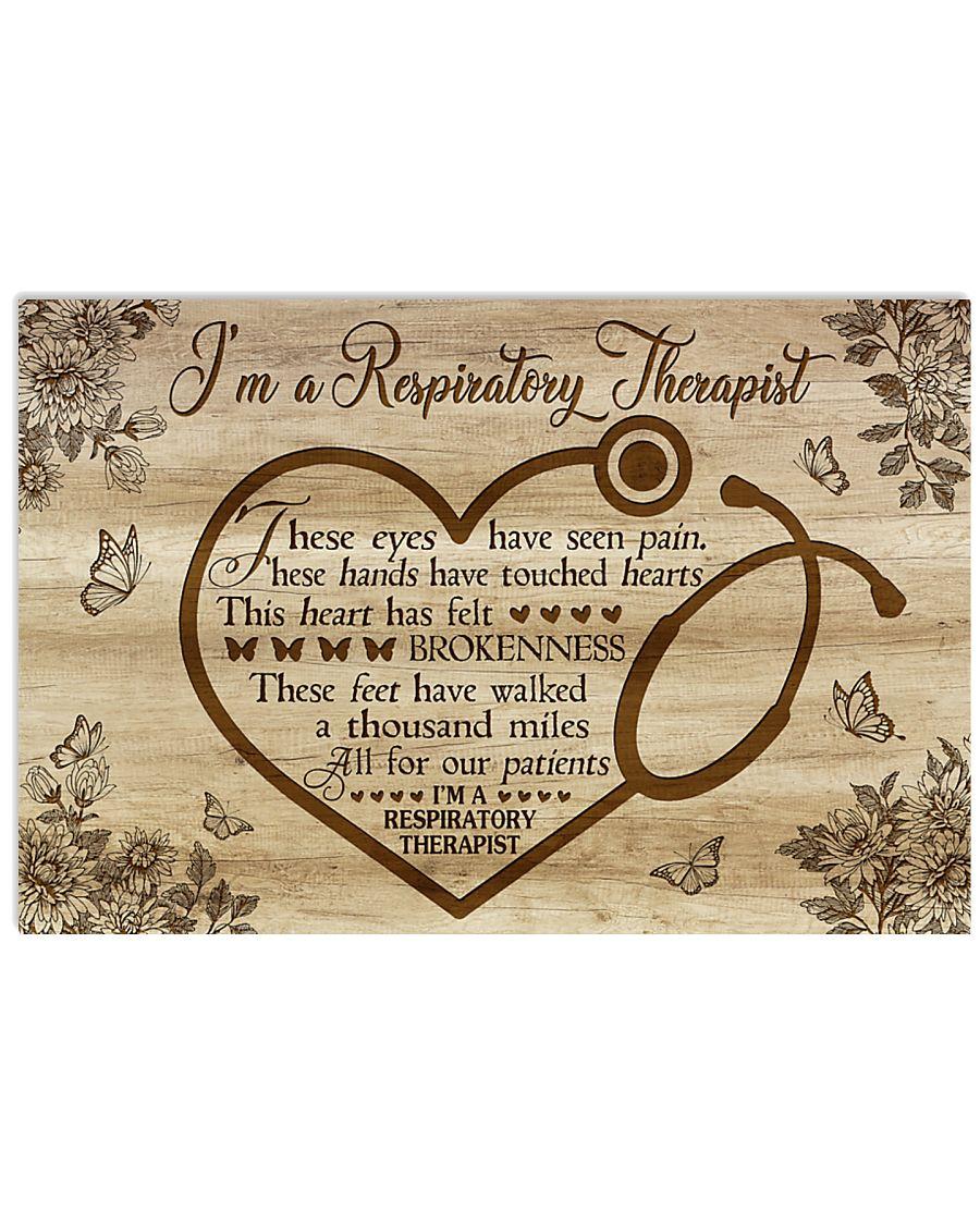 I'm A Respiratory Therapist 17x11 Poster