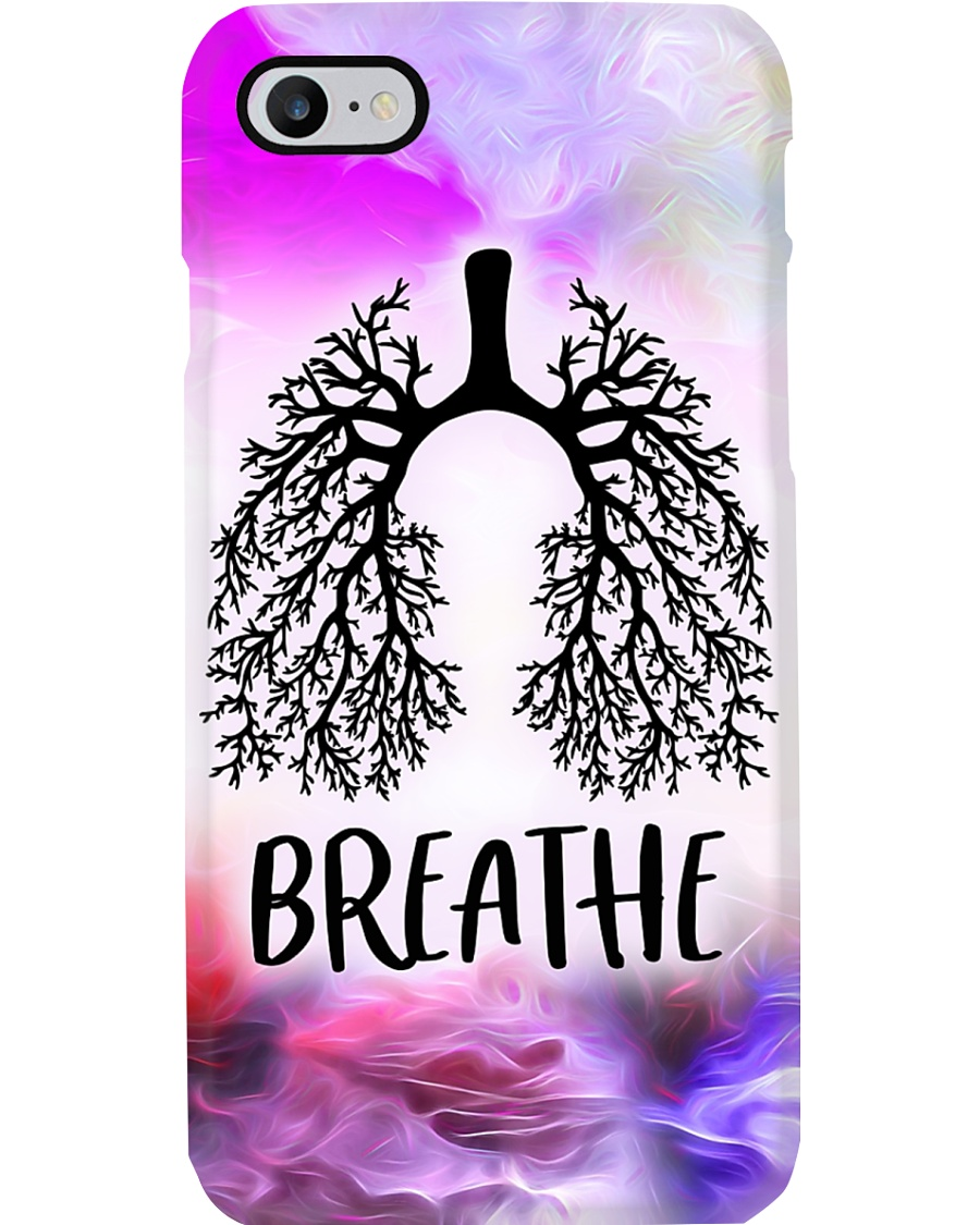 Respiratory Therapist Lungs Breath Phone Case