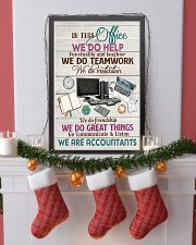 Accounting In This Office We Are Accountants  11x17 Poster lifestyle-holiday-poster-4