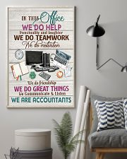 Accounting In This Office We Are Accountants  11x17 Poster lifestyle-poster-1