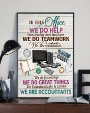 Accounting In This Office We Are Accountants  11x17 Poster lifestyle-poster-2
