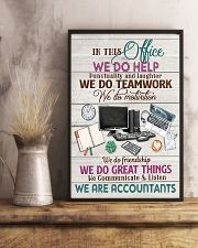 Accounting In This Office We Are Accountants  11x17 Poster lifestyle-poster-3