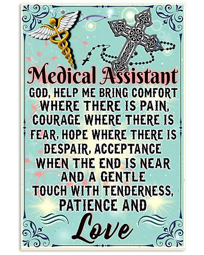 Medical Assistant - God help me bring comfort