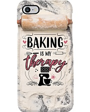 Baker Baking Is My Therapy Phone Case i-phone-7-case