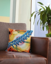 Chiropractic back pain Square Pillowcase aos-pillow-square-front-lifestyle-03