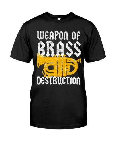 Tuba weapon of brass destruction