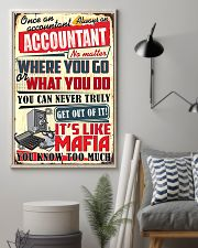 Accountant Never Truly Get Out Of It 11x17 Poster lifestyle-poster-1