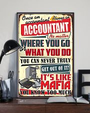 Accountant Never Truly Get Out Of It 11x17 Poster lifestyle-poster-2