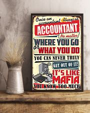 Accountant Never Truly Get Out Of It 11x17 Poster lifestyle-poster-3