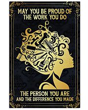 Proud Of Work Hairdresser 11x17 Poster front