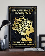 Proud Of Work Hairdresser 11x17 Poster lifestyle-poster-2