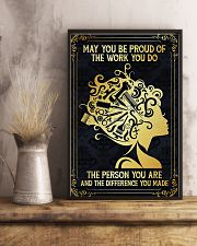Proud Of Work Hairdresser 11x17 Poster lifestyle-poster-3