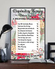 Respiratory Therapy Urban Legends 11x17 Poster lifestyle-poster-2