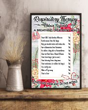 Respiratory Therapy Urban Legends 11x17 Poster lifestyle-poster-3