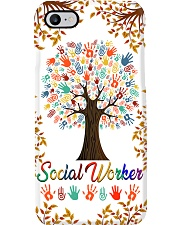 Social Worker Colorful Tree Phone Case i-phone-7-case