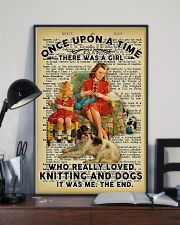 Knitting And Crochet - Love Knitting And Dogs 11x17 Poster lifestyle-poster-2