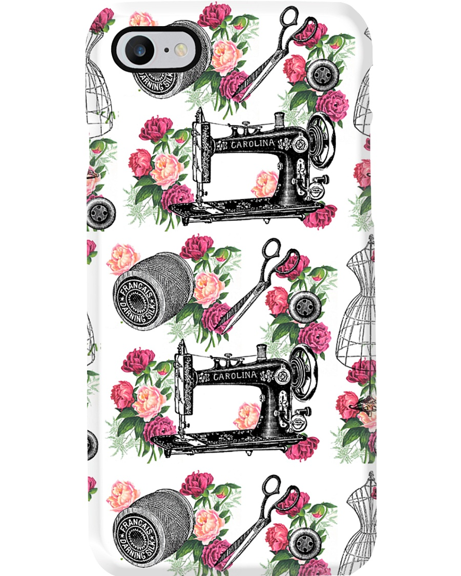 Floral Sewing Phone Case