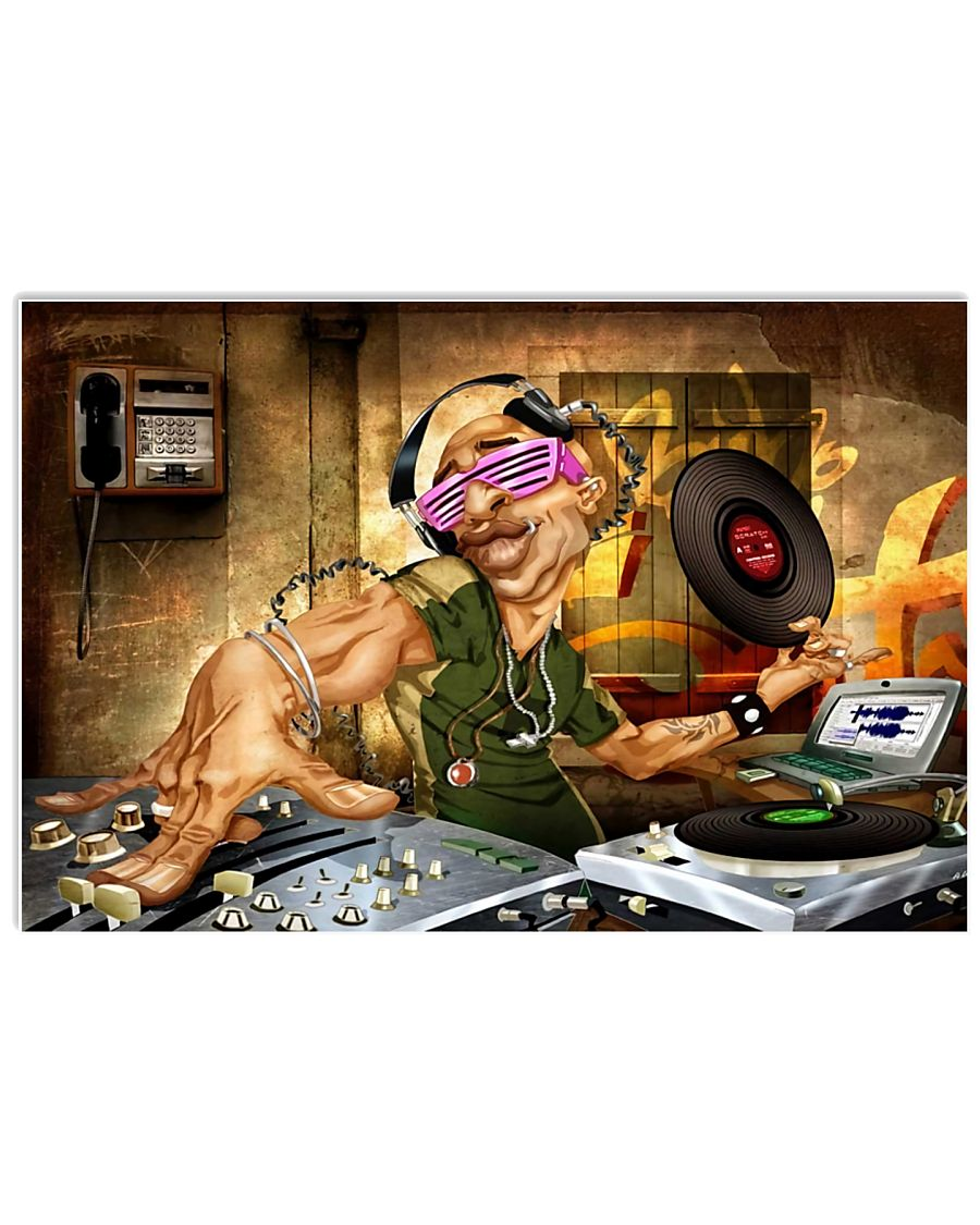 DJ Vintage 17x11 Poster