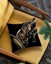 Saxophone Gift Square Pillowcase aos-pillow-square-front-lifestyle-07