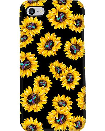 Sunflower Ribbon Suicide Prevention