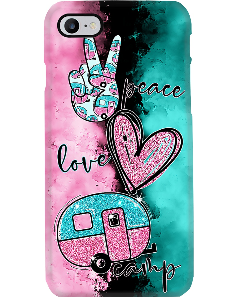 Peace Love Camping  Phone Case