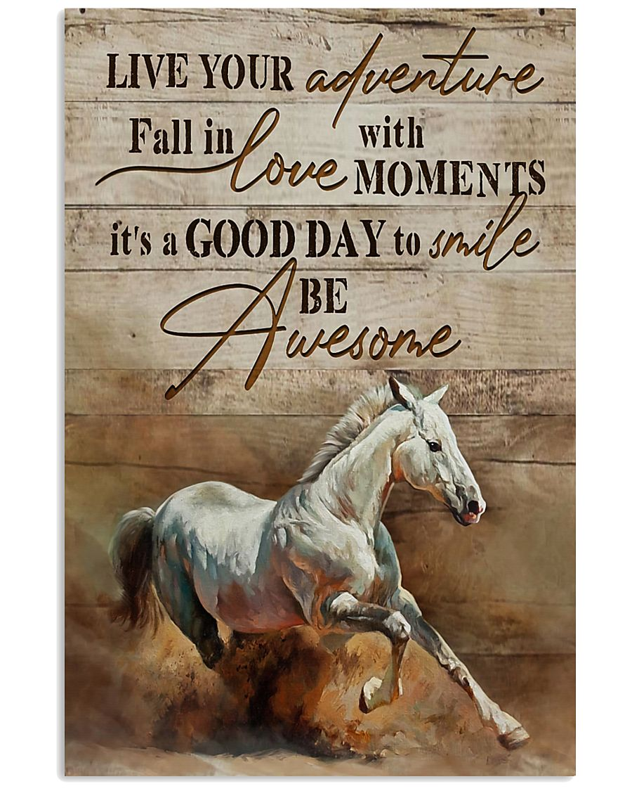 Horse Girl Live Your Adventure 11x17 Poster