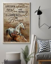 Horse Girl Live Your Adventure 11x17 Poster lifestyle-poster-1