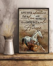 Horse Girl Live Your Adventure 11x17 Poster lifestyle-poster-3