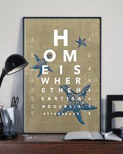 Optometrist Beach Eye Chart 11x17 Poster lifestyle-poster-2