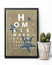 Optometrist Beach Eye Chart 11x17 Poster lifestyle-poster-8
