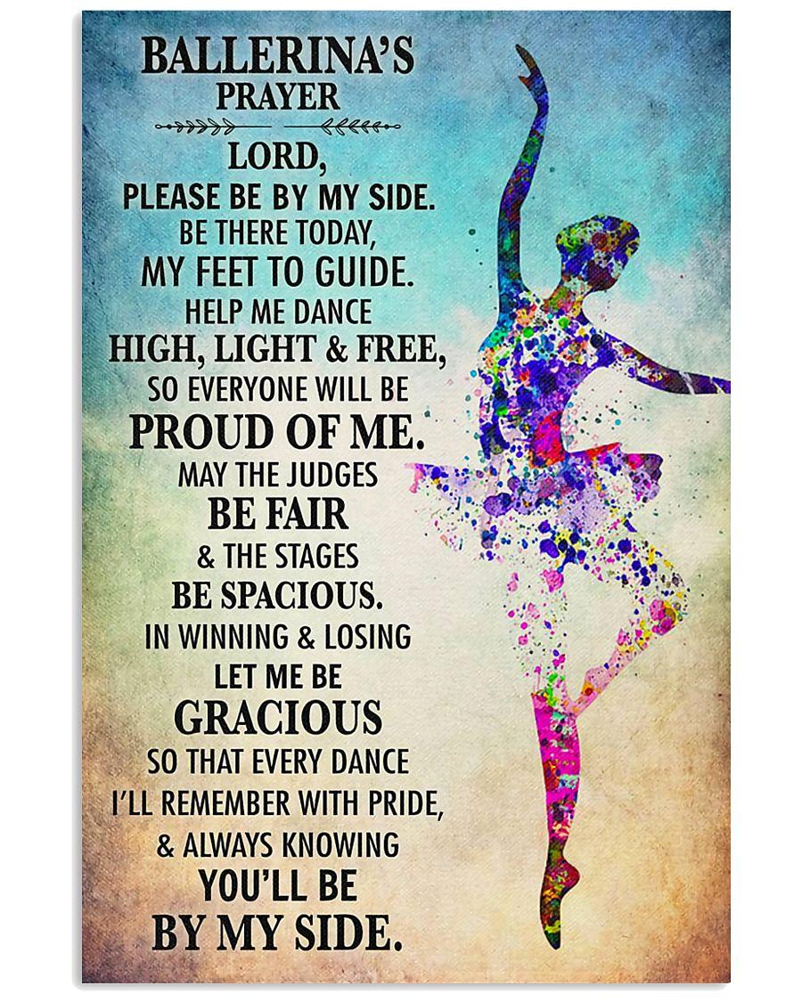 Ballet - Ballerina's prayer 11x17 Poster