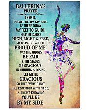 Ballet - Ballerina's prayer 11x17 Poster front