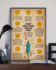 Sewing Handy Hand Stitch 11x17 Poster lifestyle-poster-2
