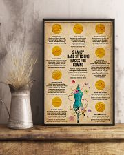 Sewing Handy Hand Stitch 11x17 Poster lifestyle-poster-3