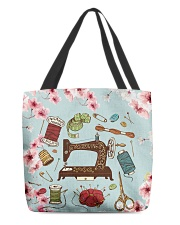 Sewing Floral Nature  All-over Tote thumbnail