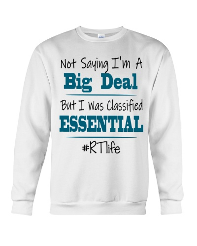Respiratory Therapist I Was Classified Essential