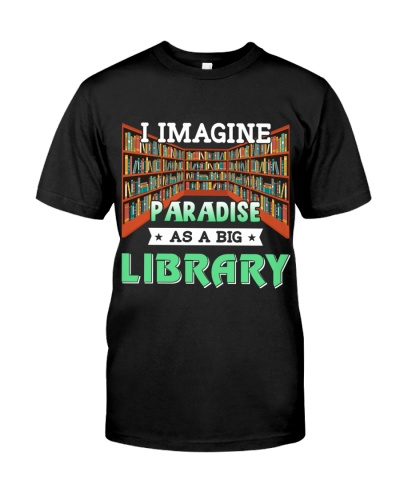 Librarian I Image paradise as a big library