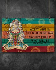 Yoga Have Faith In What Will Be 17x11 Poster poster-landscape-17x11-lifestyle-12