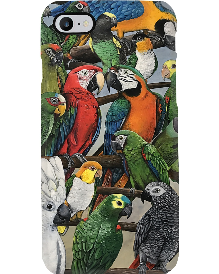 The beauty of Parrots  Phone Case