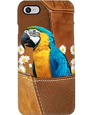 Parrot And Flower Phone Case i-phone-7-case